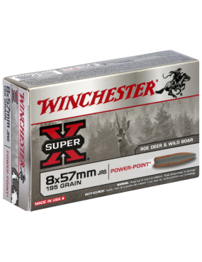 Munitions Winchester Power Point 8x57 JRS