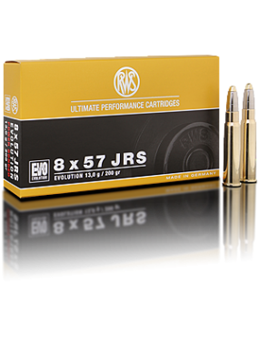 Munitions RWS 8x57jrs evo 200gr