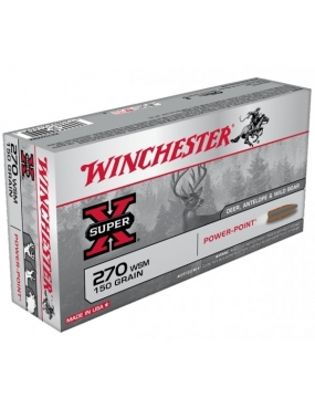 Winchester 270 WSM power max bonded 130gr