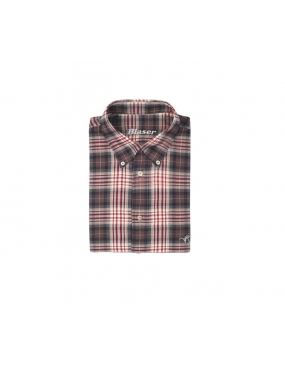 CHEMISE BLASER TWILL CLASSIC BORDEAUX/ANTHRACITE