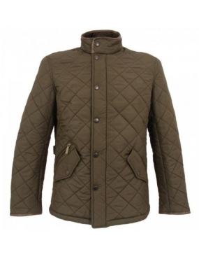 Veste Powell Barbour colori vert bronze