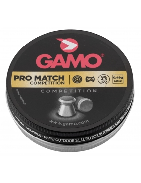 Plombs Gamo pro match competition 4,5 mm