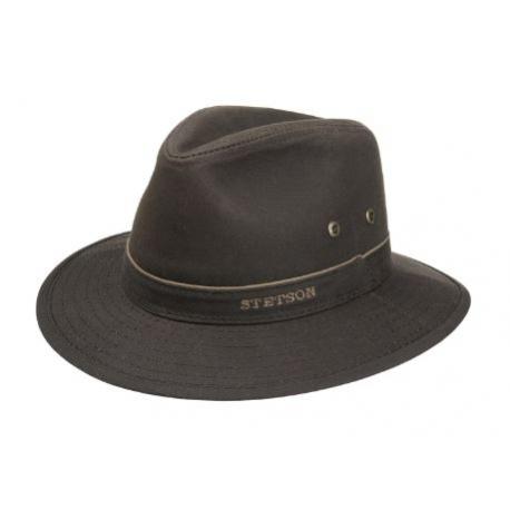 chapeau Stetson coton huilé