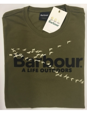 Tee Shirt Barbour Outdoor Tee