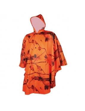 Poncho Treeland Orange