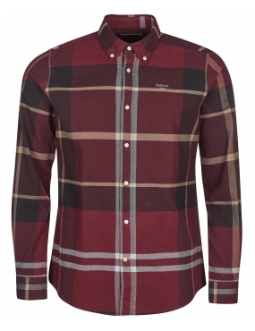 Chemise Barbour Iceloch Winter red