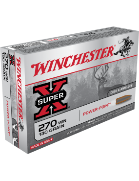 Munitions Winchester 270WIN...